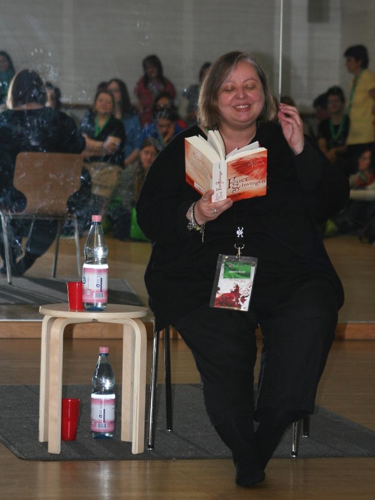 Lesung Jeanine Krock