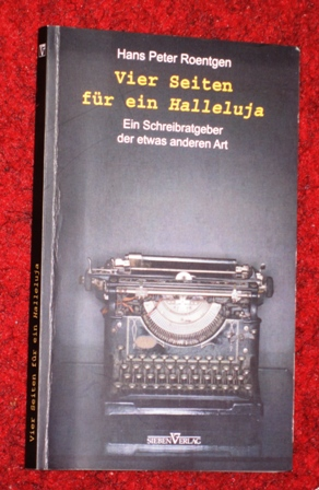 Hans – Peter Roentgen – Vier Seiten für ein Halleluja