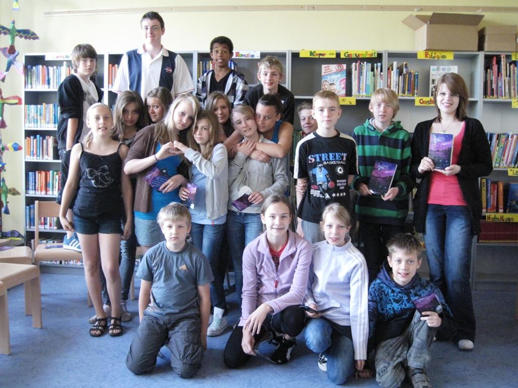 Gustav – Dreyer – Grundschule Tag 2 – Die Fragen rissen nicht ab