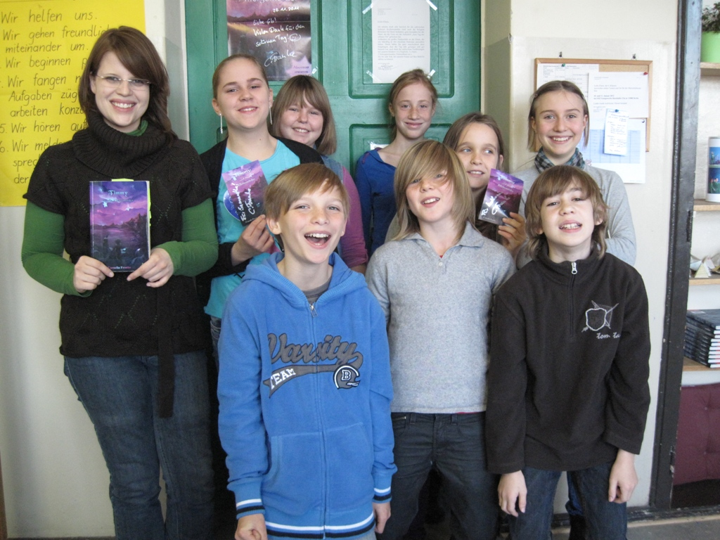 Meine Lesung in der Elizabeth Shaw Grundschule, Berlin Pankow