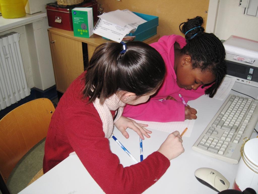Lesung Märkische Grundschule
