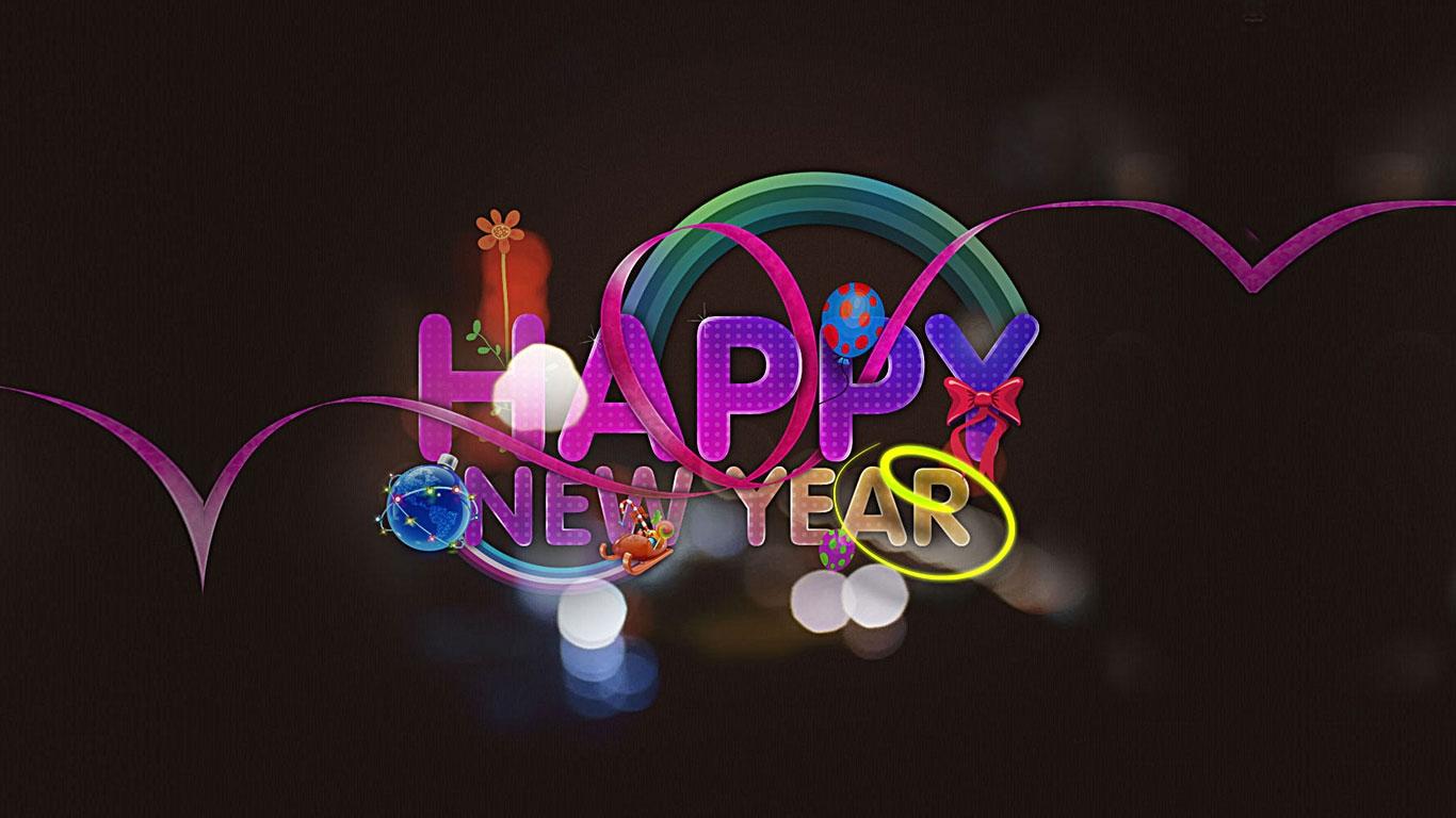 Ich wünsche euch ein frohes, tolles, superschönes neues Jahr! Glück ...