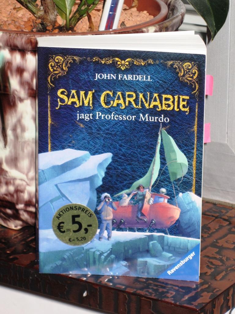 Rezension : John Fardell – Sam Carnabie jagt Professor Murdo