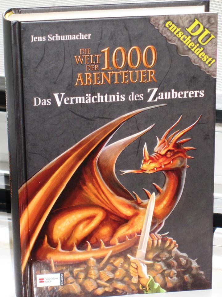 Rezension : Jens Schumacher – Die Welt der 1000 Abenteuer – Das Vermächtnis des Zauberers