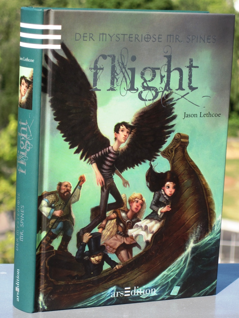 Rezension : Jason Lethcoe – Flight (Band 2)