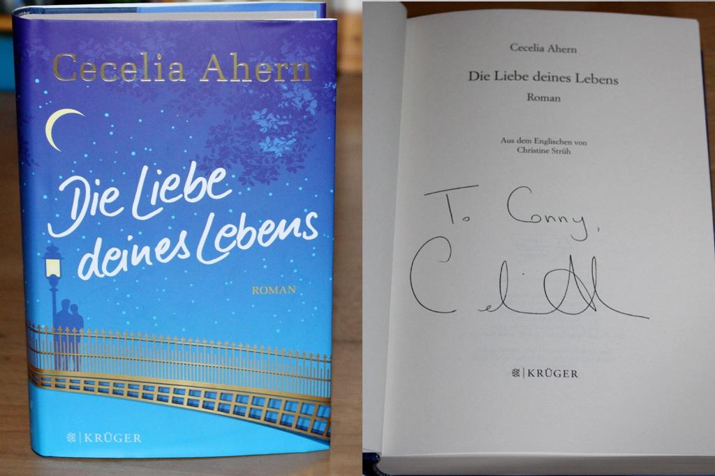 Lesung: Cecelia Ahern im Kulturkaufhaus Dussmann, Friedrichstraße