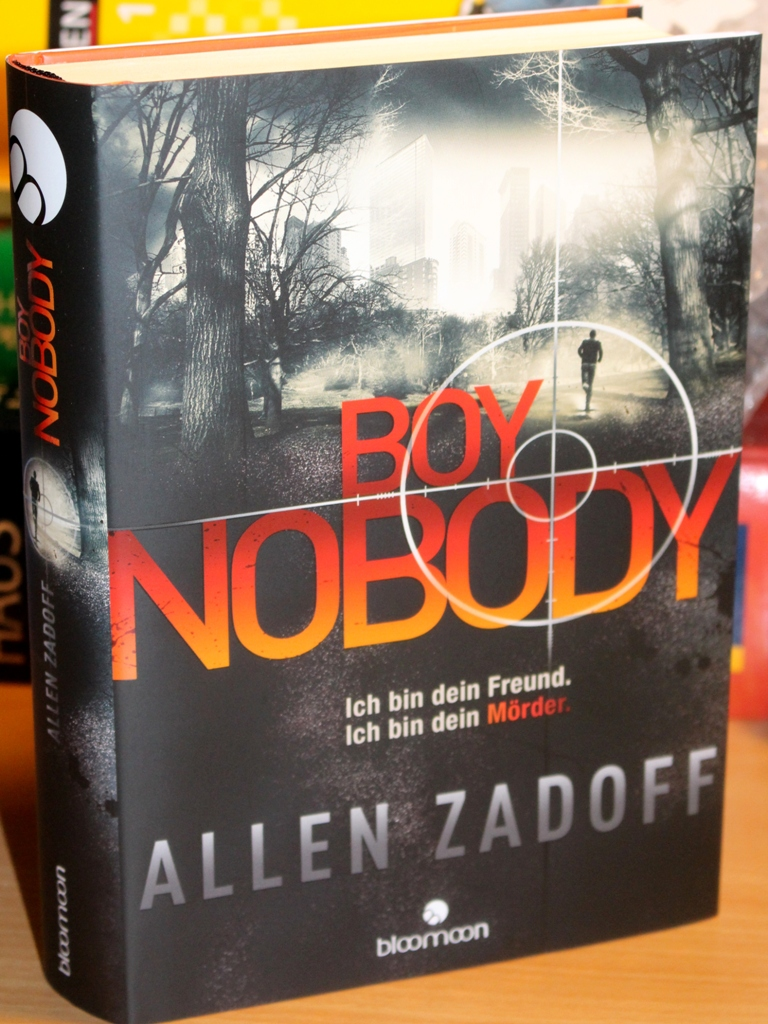 Rezension : Allen Zadoff – Boy Nobody #01