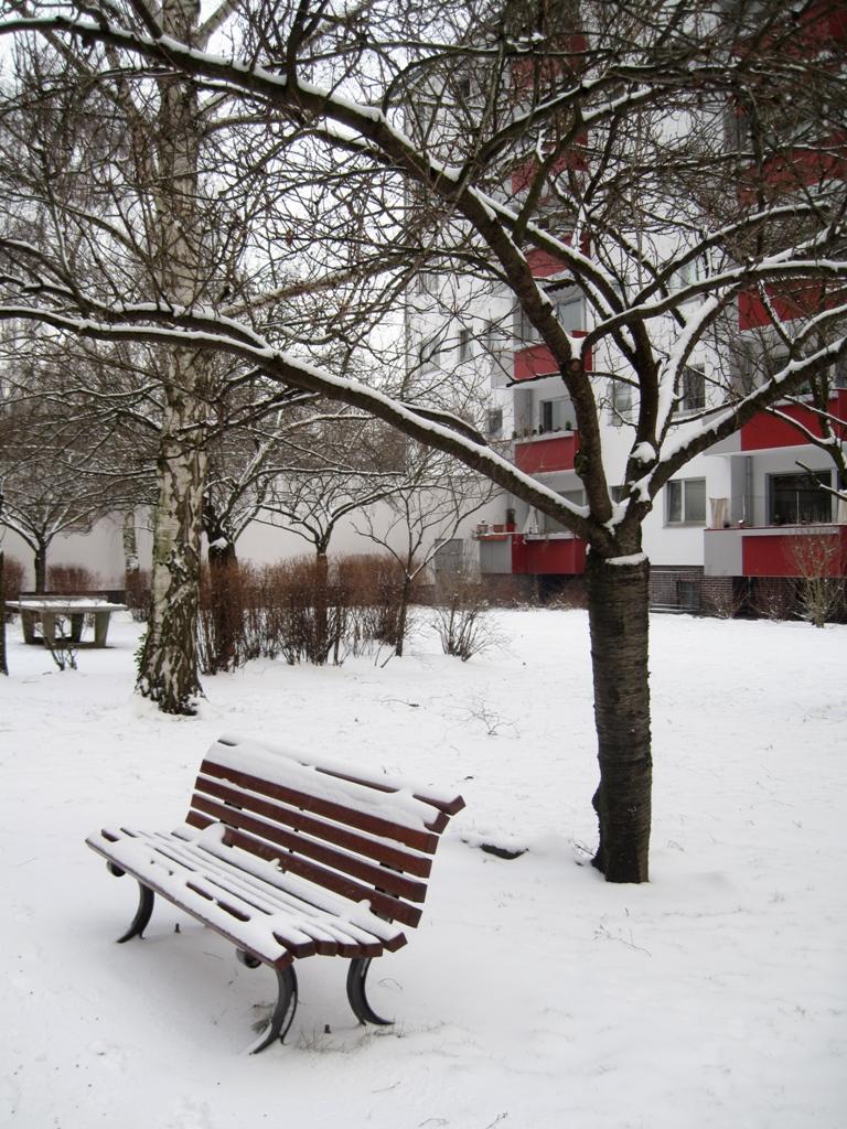 #Gedankenfetzen : Jetzt hat der Winter Berlin doch noch erwischt