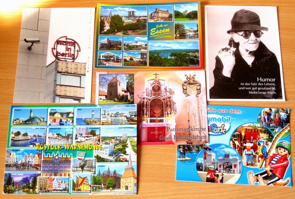 #Gedankenfetzen : Postkarten-Flashmob