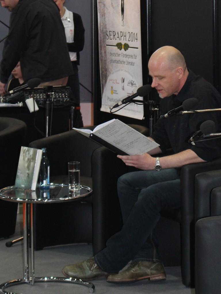 """Kai Meyer liest auf der LBM14 aus """"Phantasmen"""""""