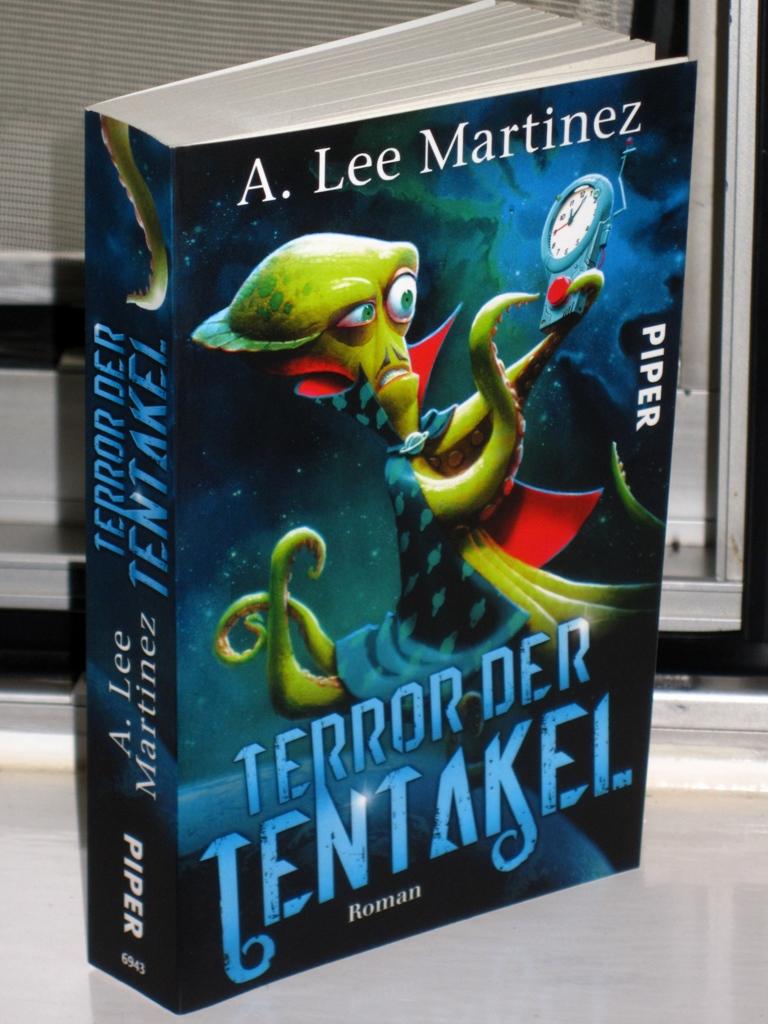 Rezension : A. Lee Martinez – Terror der Tentakel