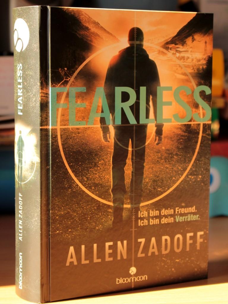 Rezension : Allen Zadoff – Fearless ( Unknown Assassin #02 )