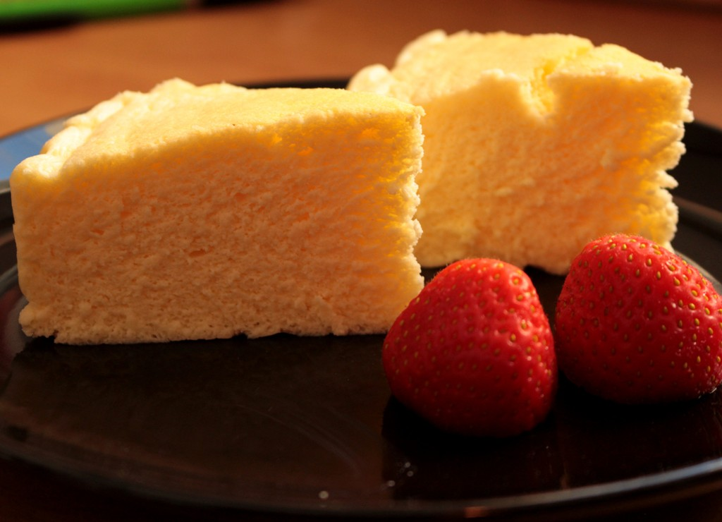 Rezept : Japanischer Soufflé Käsekuchen